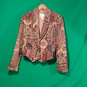 Expose Medium vintage chenille blazer